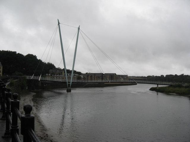 The Millennium Footbridge, Lancaster