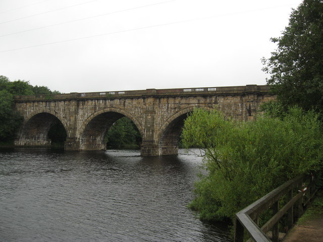 The Lune Aqueduct, Lancaster Canal