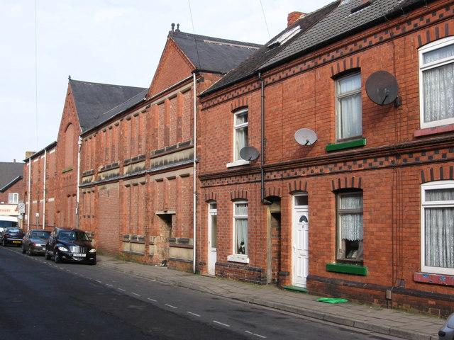 Sutton-in-Ashfield - Welbeck Street - north side
