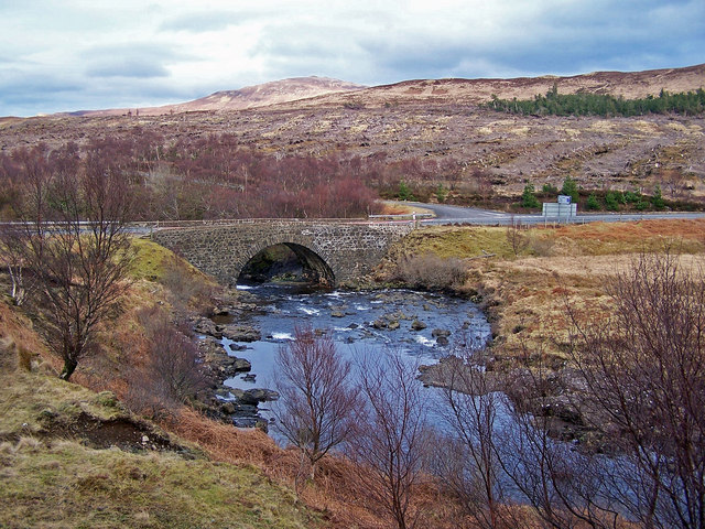 A87 bridge over Varragill River