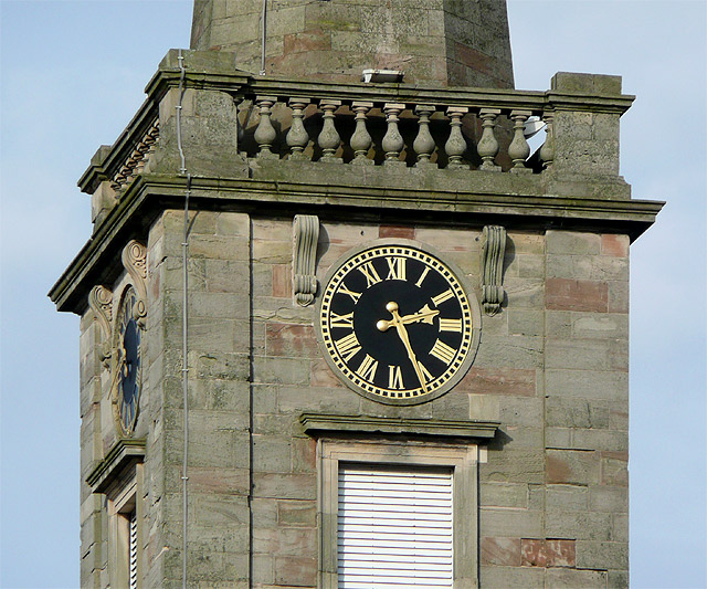 St George's Church clock, Wolverhampton