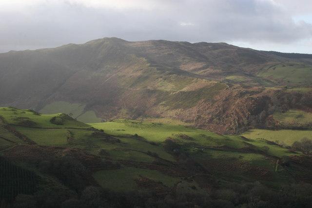 Innominate ridge, Cwm Rhaiadr