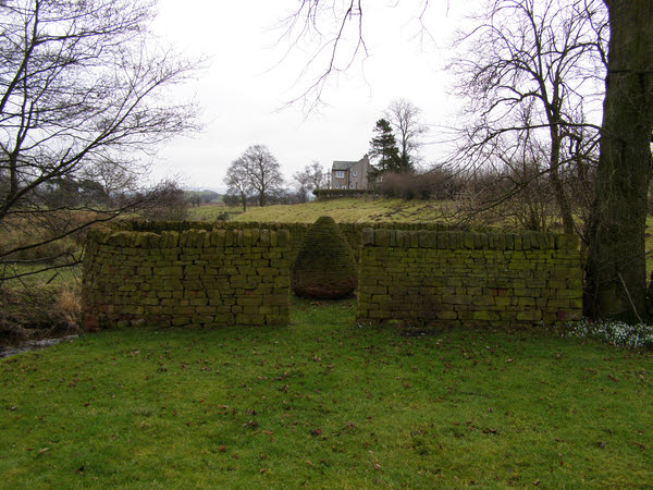 Pinfold and Goldsworthy Sculpture