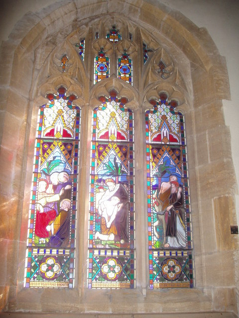 Windows in St. Martin Of Tours, West Coker