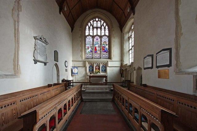 St Mary, Gressenhall, Norfolk - Chancel