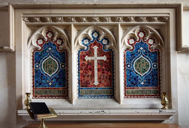 St Mary, Gressenhall, Norfolk - Reredos