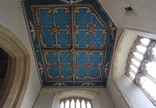 St Mary, Gressenhall, Norfolk - South transept roof