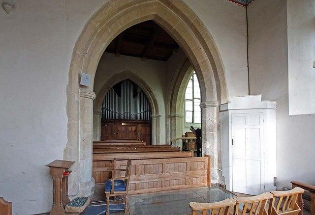 St Mary, Gressenhall, Norfolk - Organ from south transept