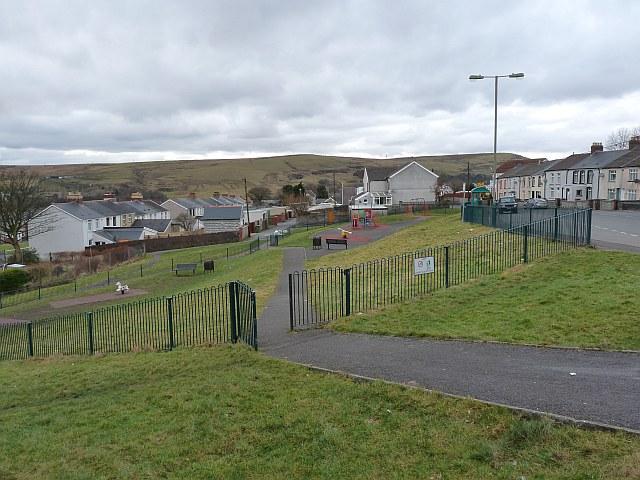 Play area, Hill street, Rhymney