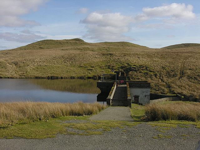 Llyn Egnant Dam