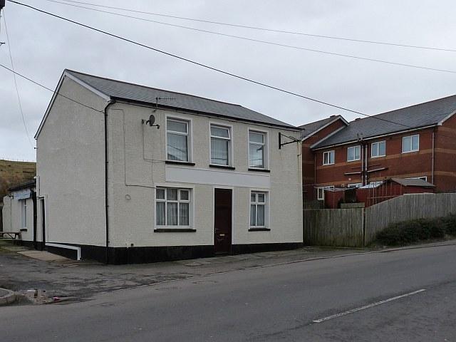 Former Tredegar Arms, Hill Street, Rhymney