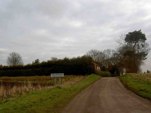 Entering Low Marnham