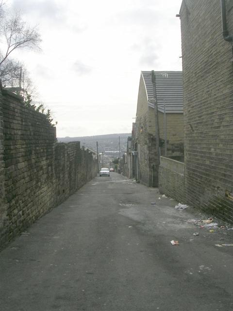 Back Kensington Street - Duckworth Lane