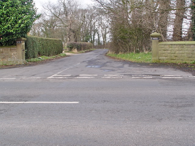 Entrance to The Bowers