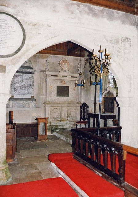 St Peter, Shorwell - Interior