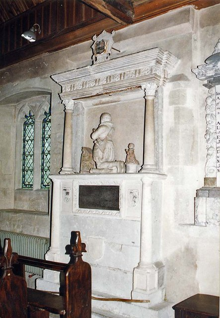 St Peter, Shorwell - Monument