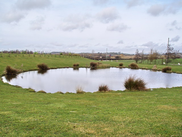 Ornamental Pond at Entrance to Copthorne Fisheries