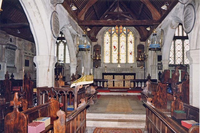 St Peter, Shorwell - Chancel
