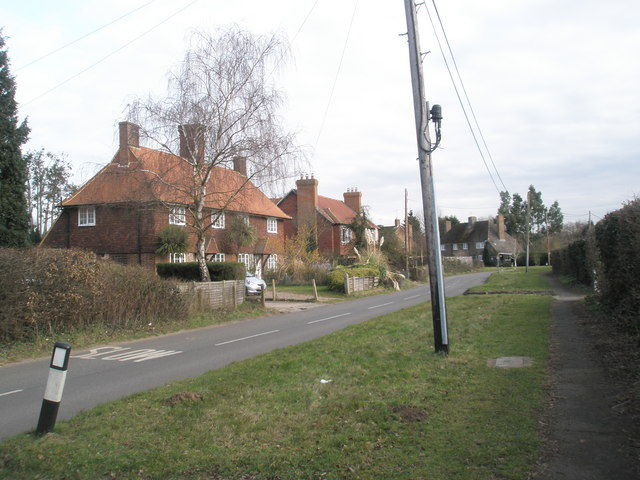 RHS Cottages in Wisley Lane