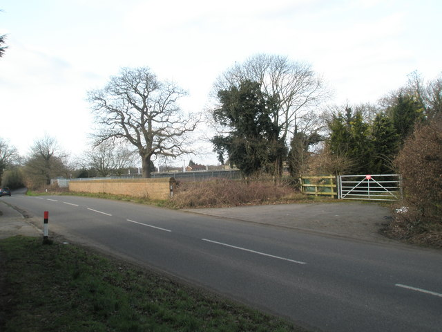 Mid section of Wisley Lane