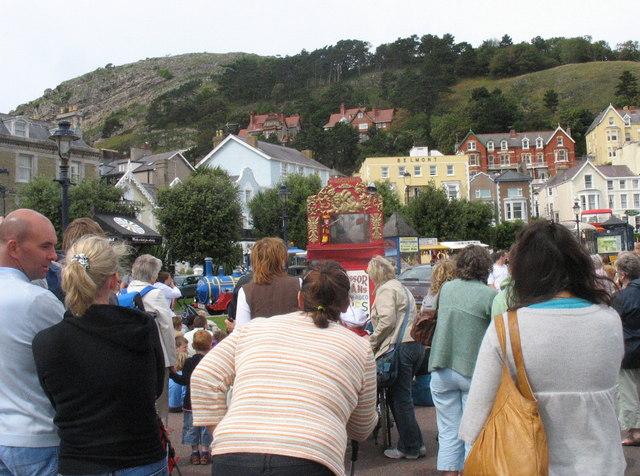 Professor Codman's Punch and Judy Show on the Promenade