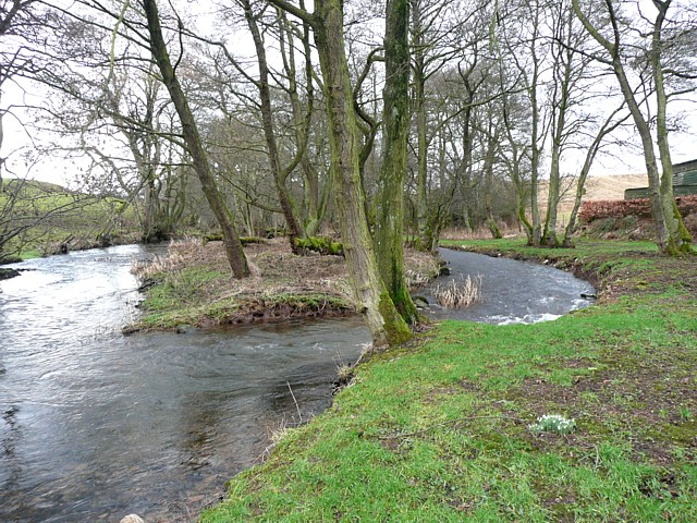 The River Petteril, Little Blencow