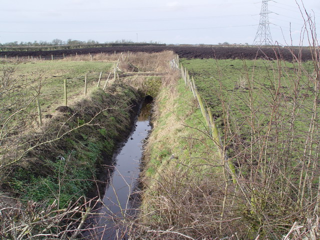 Drainage Ditch at New Eskham Farm