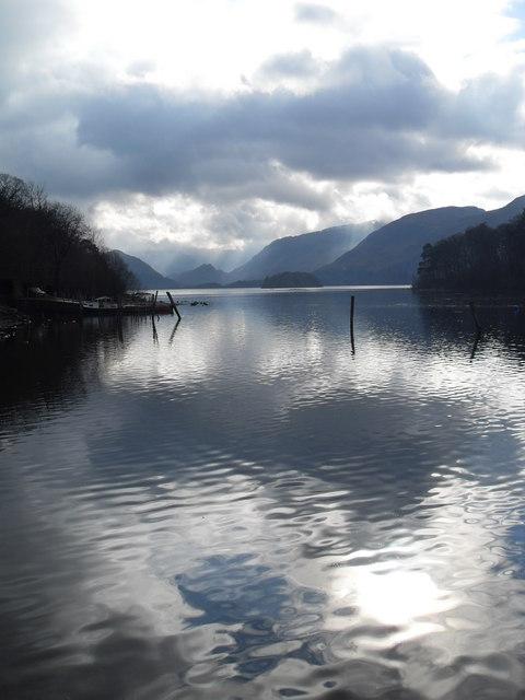 Cloudy day on Derwent Water