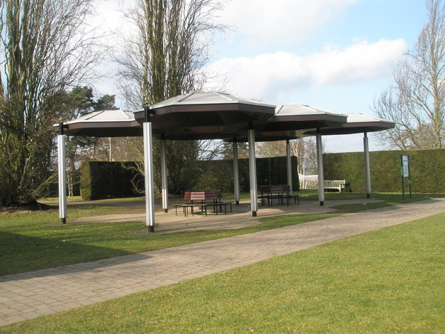 The Bowes Lyon Shelter at the Royal Horticultural Society Gardens, Wisley