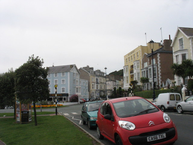 The western end of North Parade
