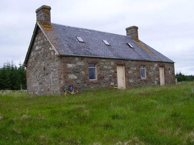 Loch Strathy house