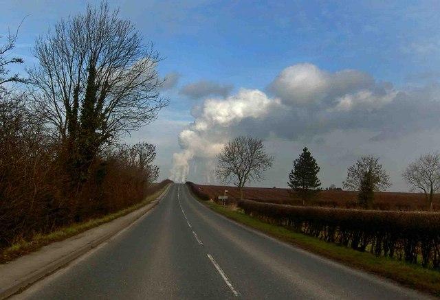 Smokey (steamy) road Stokeham