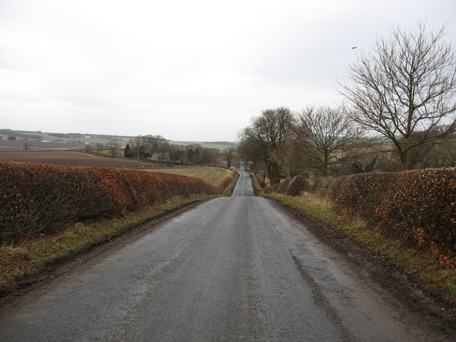 Looking back to Millheugh Farm