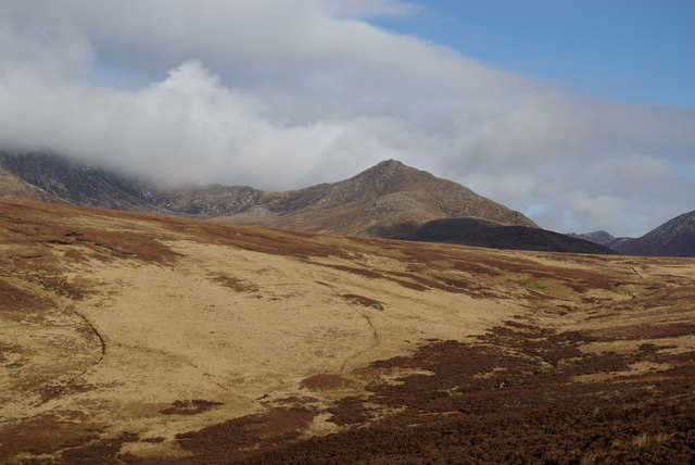 A view towards the upper reaches of Gleann Easbuig