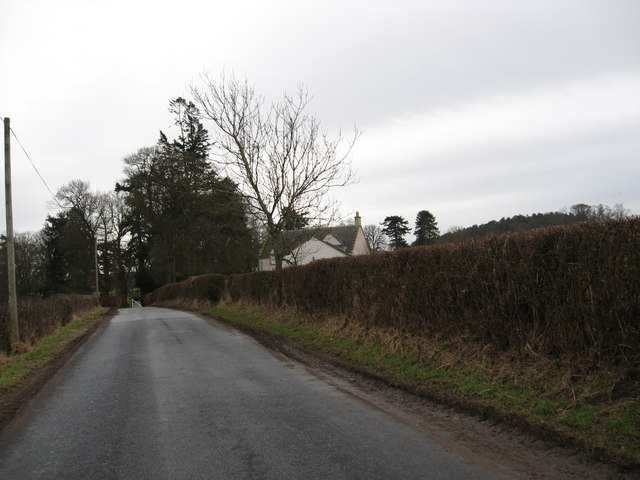 Minor road near Oxnam