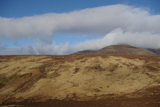 Northern slopes of Gleann Easbuig