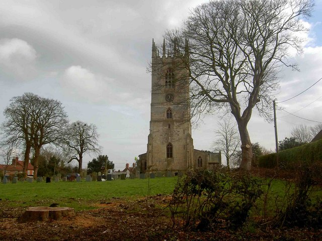 St. Peter and St. Pauls church Sturton le Steeple