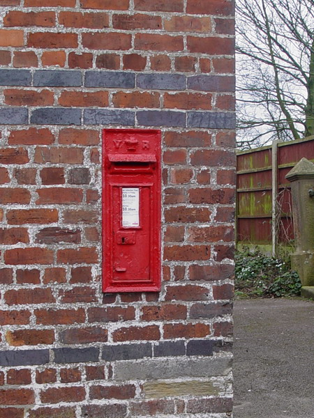 Victorian Postbox, Eagland Hill