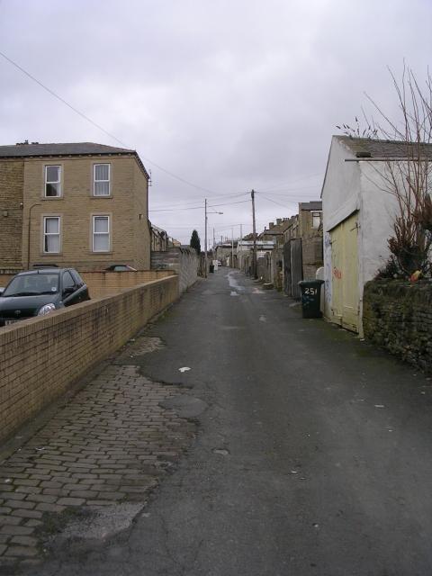 Back Kensington Street - Thorn Street
