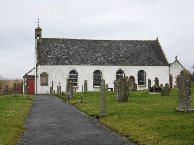 The Parish Church at Oxnam