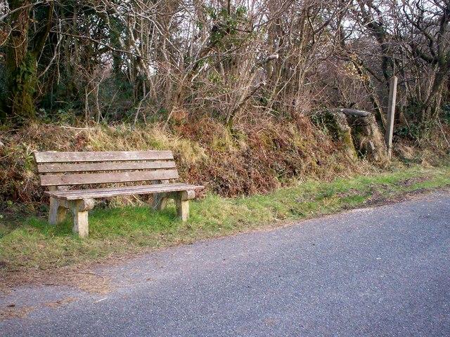 Seat & Stile at Mountain Chapel, Llanteg