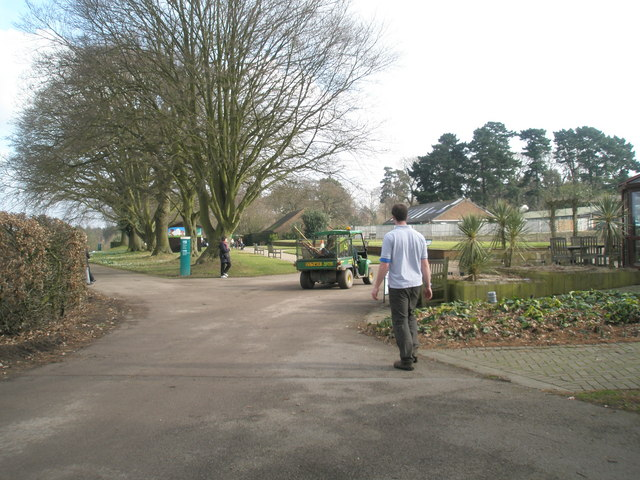 Buggy disappearing at the Royal Horticultural Society Gardens, Wisley