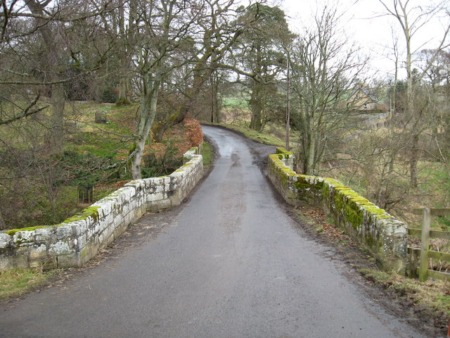 The old bridge at Oxnam