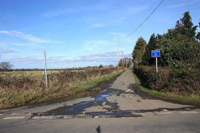The road to Brotheridge Green