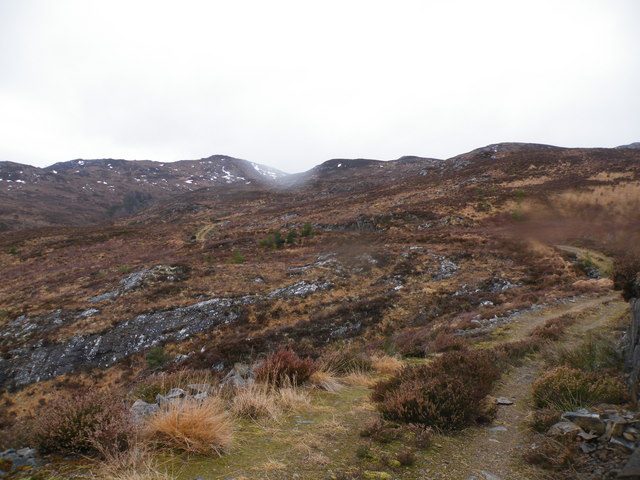 Allt Loch an t-Sionnaich going North