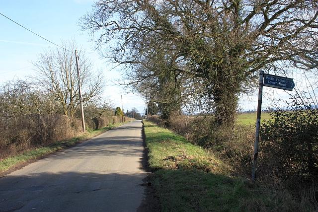 The Upper Hook road