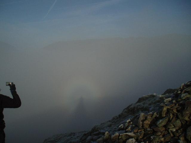 Brocken Spectre from Helm Crag