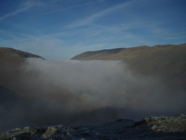 Temperature Inversion from Helm Crag
