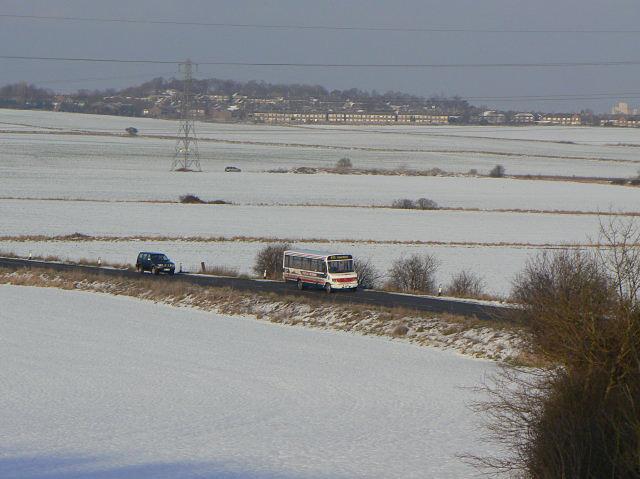 Crossing Barton Moor