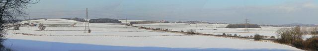 Barton Moor panorama